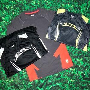 Boys Fila lot | medium | 10-12 | sleeveless shirt